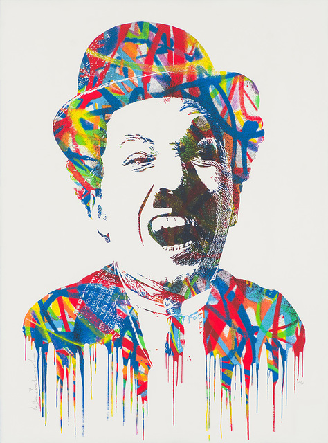 Mr. Brainwash, 'Charlie Chaplin', 2015, Larsen Gallery