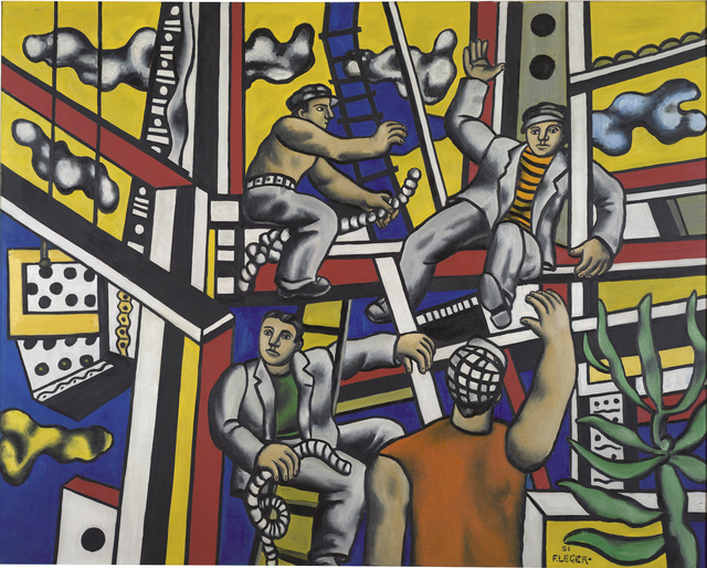 , 'Builders (builders with aloe),' 1951, Centre for Fine Arts (BOZAR)