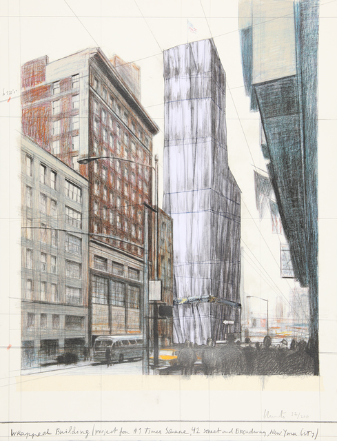 , 'Project for No 1 Times Square, 42nd Street and Broadway, New York.,' 2003, William Weston Gallery Ltd.