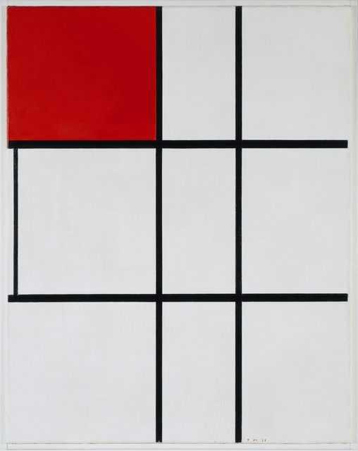 , 'Composition B (No.II) with Red ,' 1935, Tate Liverpool