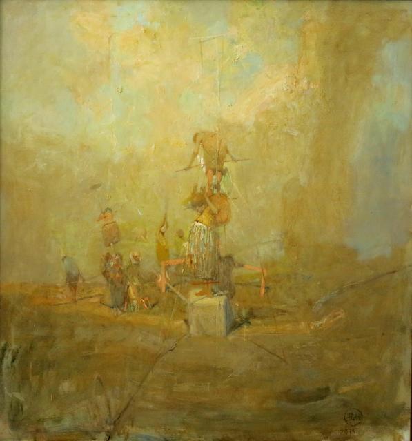 """, '""""Ladder № I"""" /""""Merdiven № I"""",' 2014, Galeri 77"""