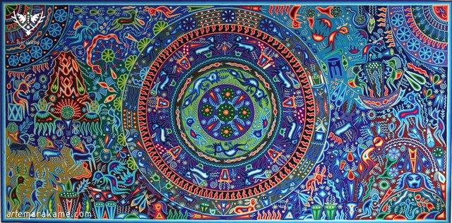 Luis Torres, 'Hikuri Neixa', 2018, Marakame - Arte Huichol