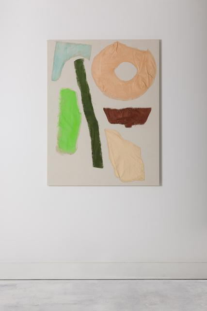, 'Doughnuts, dustpan, marble, wood,' 2017, The Dot Project
