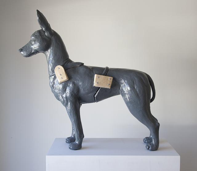 , 'Grey Xoloitzcuintil,' 2016, Kruger Gallery
