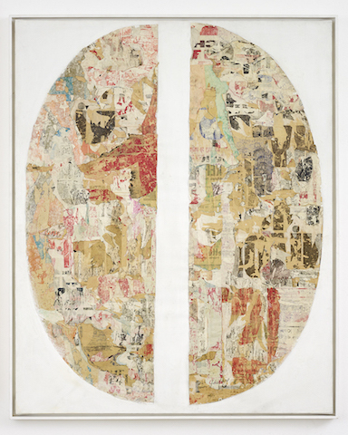 , 'Mot Nu Mental (detail) ,' 1964, GALERIE GEORGES-PHILIPPE ET NATHALIE VALLOIS