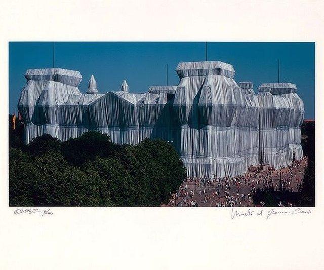 Christo and Jeanne-Claude, 'Reichstag Südfassade', ARTEDIO