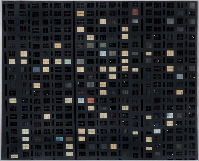 , 'NIGHT - II,' 2014, Merkur