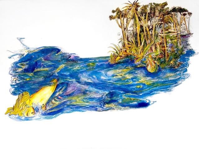 , 'Los dibujos de la Chapeadora (Drawings of the Gold-digger), ,' 2015, BRIC