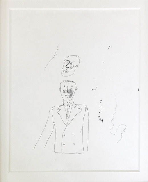 , 'Ink on Paper drawing of Peter Crutch ,' 1962, Mr & Mrs Clark's