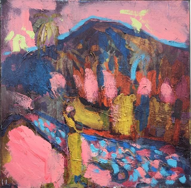 , 'Evening Wadi flows Pink,' , Janet Rady Fine Art