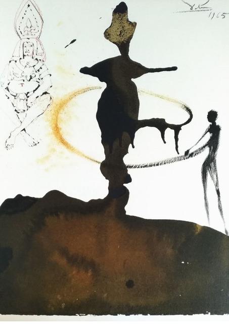 "Salvador Dalí, 'Filiae Herodiadis saltatio - From ""Biblia Sacra""', 1965, Wallector"