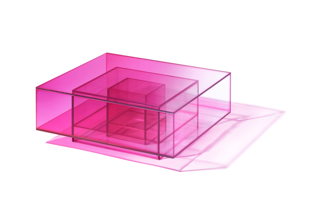 Studio BUZAO, 'NULL Hot Pink Coffee Table', 2020, Design/Decorative Art, Laminated Glass, Gallery ALL