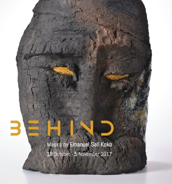 Behind – Masks by Emanuel Sali Koko / 18 October – 5 November 2017.