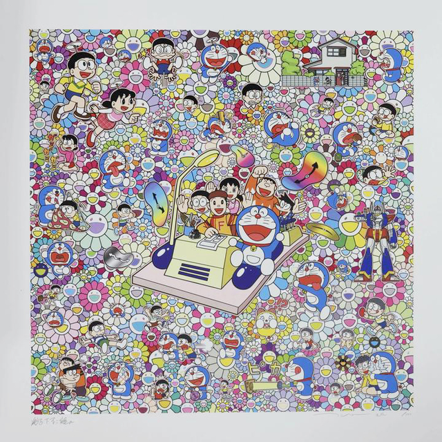 Takashi Murakami, 'On an Endless Journey on a Time Machine with the Author Fujiko F. Fujio!', 2019, Lougher Contemporary