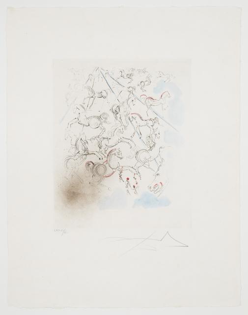 , 'Individual: Blue Horses,' 1966, ACA Galleries