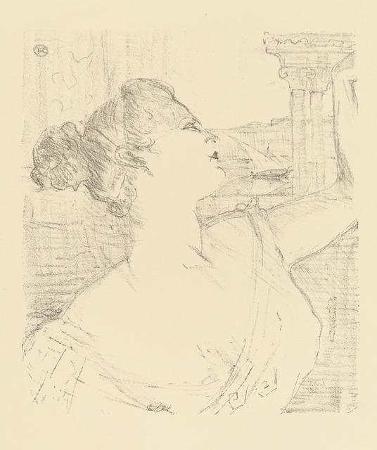 Henri de Toulouse-Lautrec, 'SYBIL SANDERSON', 1898, Christopher-Clark Fine Art