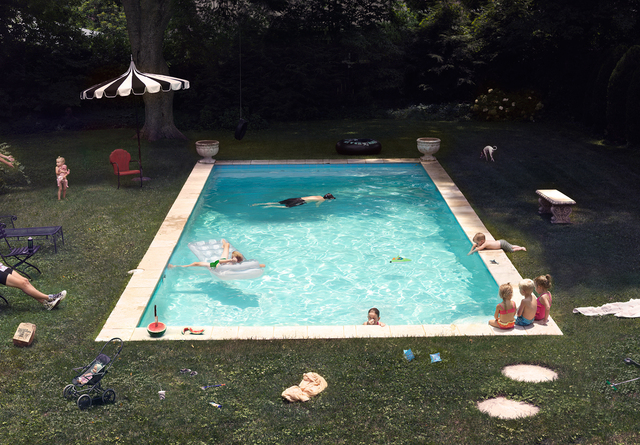 Julie Blackmon, 'Pool', 2015, G. Gibson Gallery