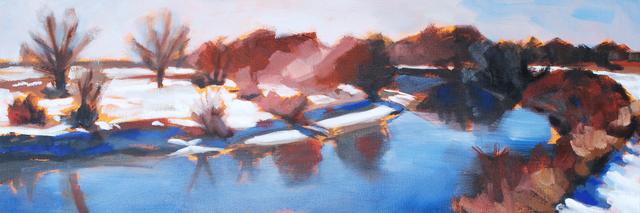 , 'Platte River December ,' 2016, Abend Gallery