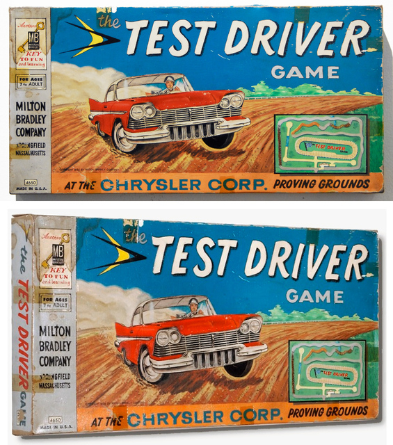 , 'circa 1956 Test Driver,' 2010, Clark Gallery