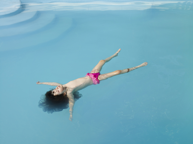 , 'Untitled (Jessica Floating),' 2013, Meislin Projects