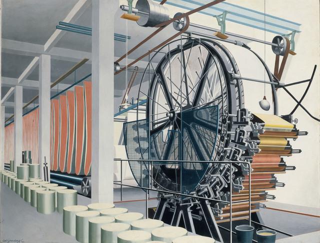 , 'The Paper Machine (Die Papiermaschine),' 1934, Los Angeles County Museum of Art