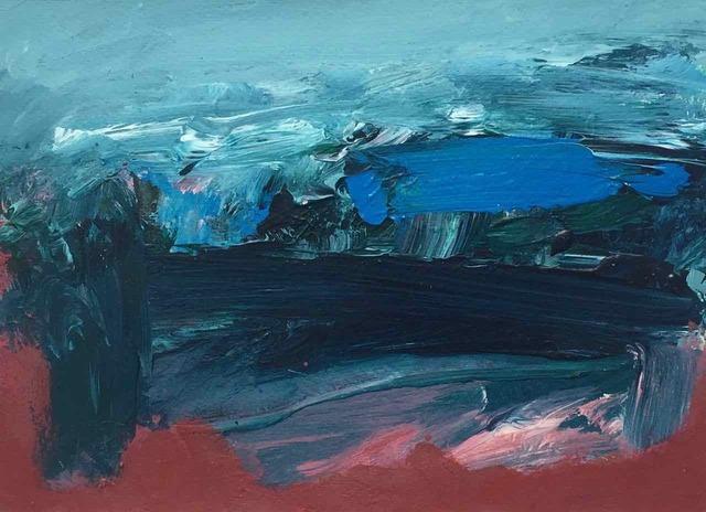 Deborah Lanyon, 'Gara Rock', 2018, Painting, Acrylic on paper and board, Joanna Bryant & Julian Page