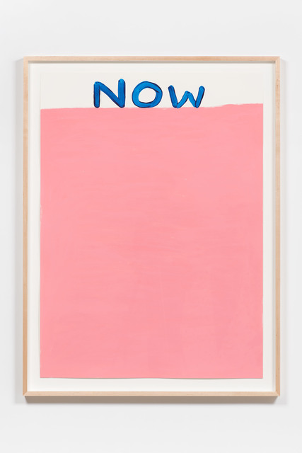 , 'Untitled (Now),' 2016, Anton Kern Gallery