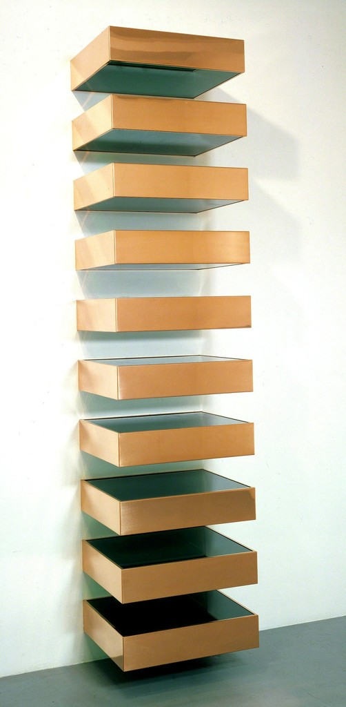 On the importance of donald judd for Minimal art judd