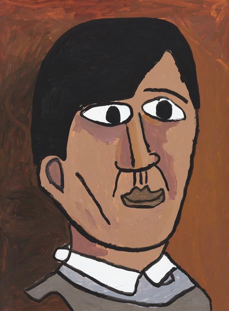 , 'Young Picasso Portrait,' 2019, Creativity Explored