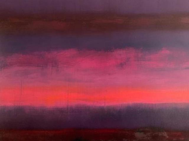 , 'End of Day Pink', from 'Somewhere Between Two Worlds' series ,' 2019, Tanya Baxter Contemporary