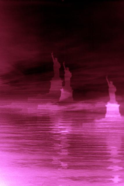 Erik Steffensen, 'Dark Red Lady Liberty', 2015, Galleri Bo Bjerggaard
