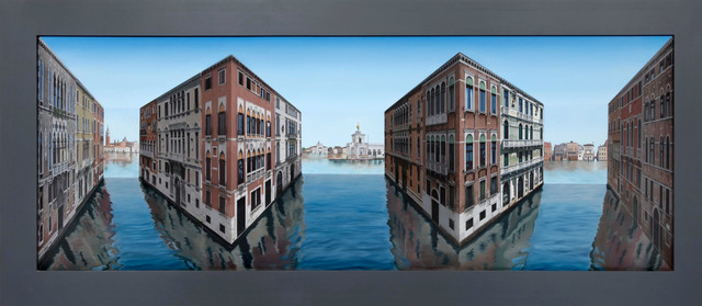 Patrick Hughes, 'Various Venice', 2017, Tangent Contemporary Art