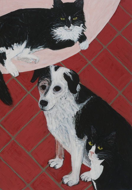 , 'Triple Pet,' 2013, Tibor de Nagy