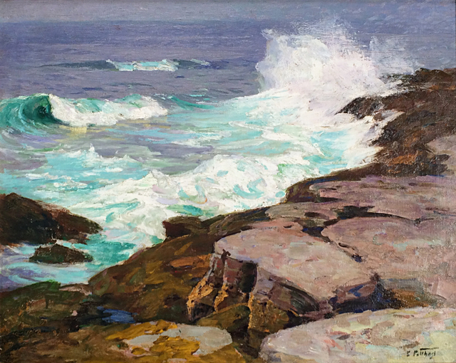 Edward Henry Potthast, 'Surf at Low Tide', ca. 1915, Caldwell Gallery Hudson