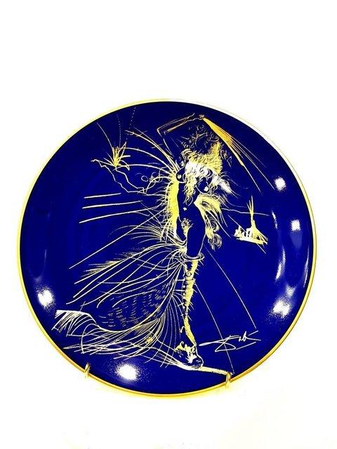 """Salvador Dalí, 'Limoges Porcelain Blue and Gold """"Venus"""" by Salvador Dali', 1968, Galerie Philia"""