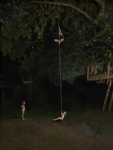 , 'Rope Swing,' 2016, Robert Mann Gallery
