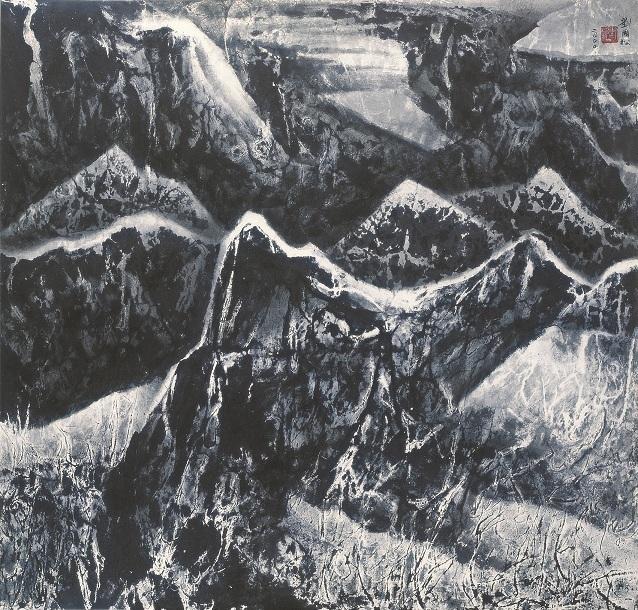 , 'Layer Upon Layer,' 2000, Galerie du Monde