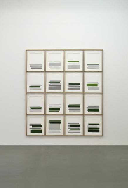 , 'Print Stop #3,' 2016, Konrad Fischer Galerie