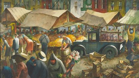 Untitled (Farmer's Market)