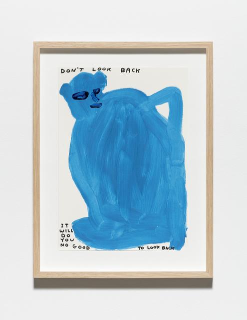 , 'Untitled (Don't look back),' 2019, Galleri Nicolai Wallner