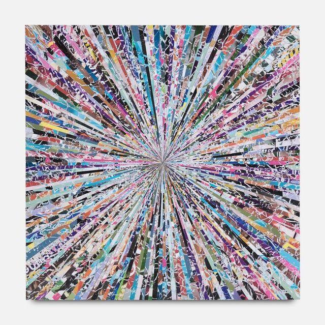Benjamin Phillips, 'Chaotic Tendancies Original mixed media hand made bespoke wood panel signed', 2019, Flat Space Art