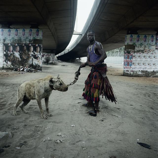 , 'Abdullahi Mohammed with Mainasara, Lagos, Nigeria,' 2007, Yossi Milo Gallery
