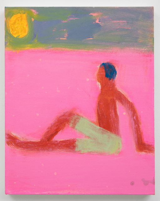 , 'Green Suit, Pink Sand,' 2018, Planthouse