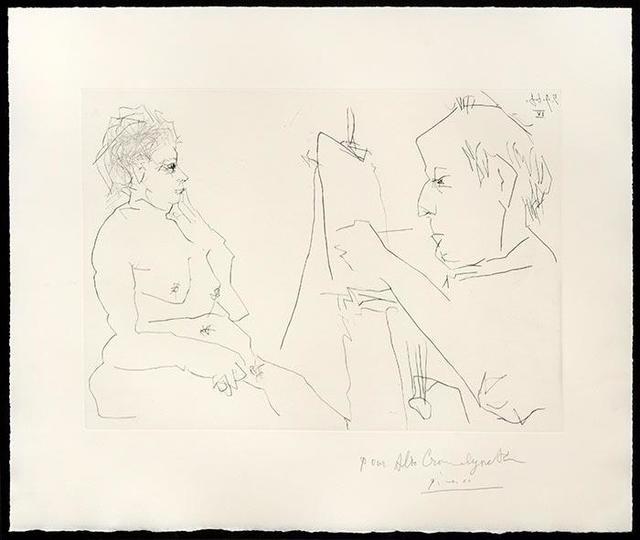 , 'Peintre et Modèle,' 1966, Tanya Baxter Contemporary