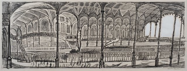 , 'Liverpool Street Station,' ca. 1960, Osborne Samuel