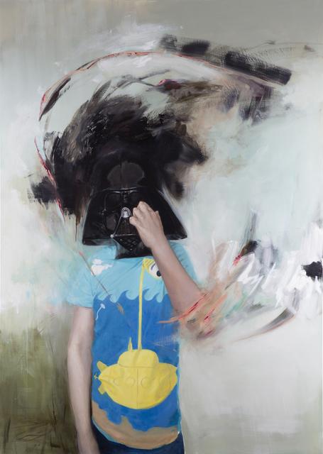 Ville Löppönen, 'Mask (Wiljam)', 2017, Painting, Oil on canvas, Helsinki Contemporary