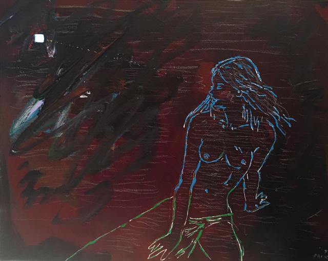 , 'Untitled (Naked Woman Watching TV),' 1991, Cheryl Numark Fine Art