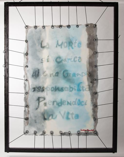, 'Skin Frasi sepolte/morte ,' 2016, Galleria Ca' d'Oro