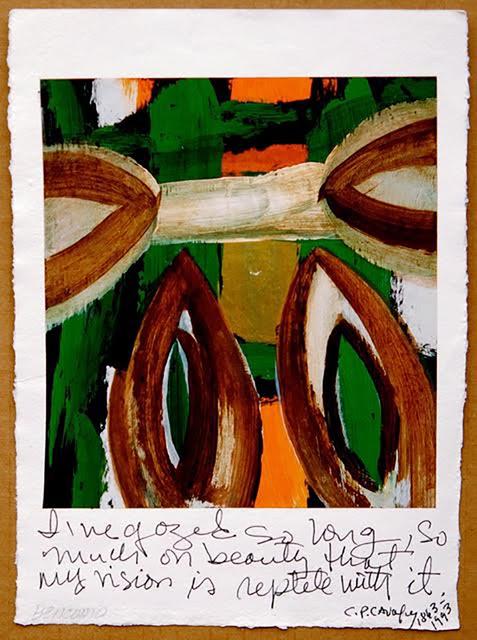 , 'Cavafy Poetry Series I,' , Anita Shapolsky Gallery