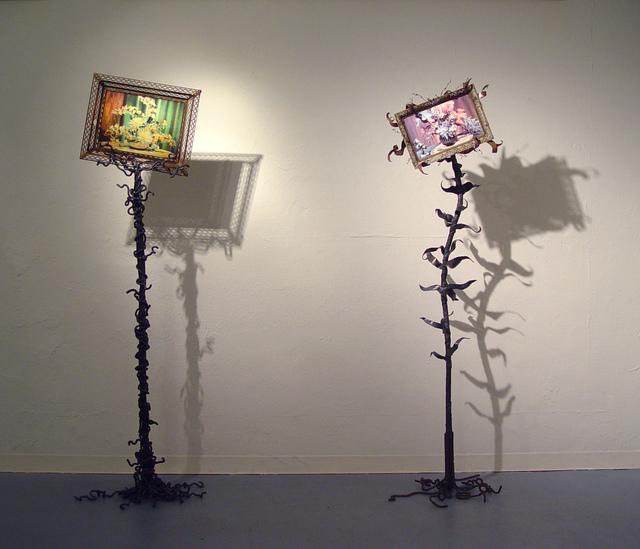 , 'Reality Check #1,#2,' 2012, LA Artcore